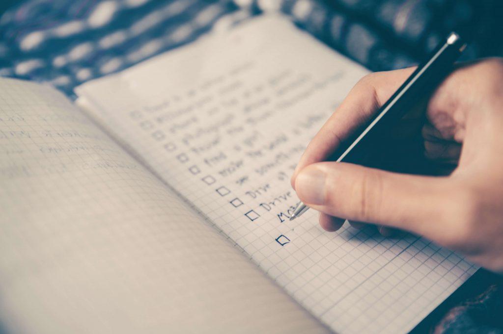 不安を解消する方法「感情ノート」